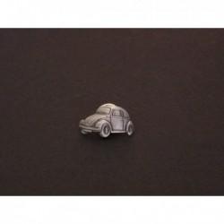 pin's Volkswagen Coccinelle, Cox, Beetle, étain verni