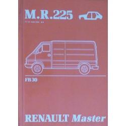 Renault Master, manuel de réparation crosserie