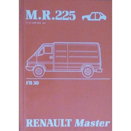 Renault Master, manuel de réparation