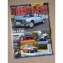 Youngtimers n°77, Jaguar XK X100, BMW 320iA, Mercedes 560SEC Koenig, Moskvich 2140