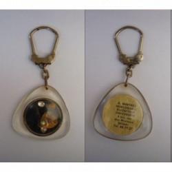 porte-clés huitre perle diamants mobiles, Hurtrez hologerie bijouterie, Douai (pc)