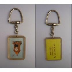 porte-clés Bourbon, pendule, la boule d'or, bijouterie Auxerre (pc)