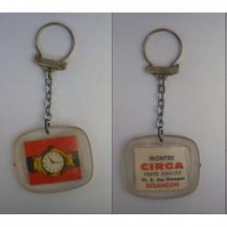 porte-clés montre Cirga, Besançon (pc)