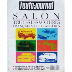 L'Auto Journal, salon 1990