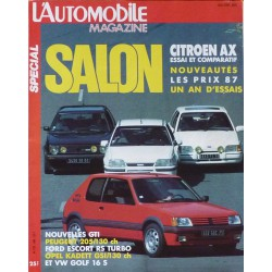 L'Automobile Magazine, salon 1986, Citroën AX, les GTI