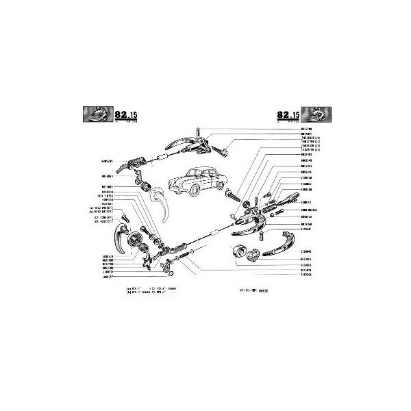 renault dauphine r1095 gordini  export  catalogue de pi u00e8ces