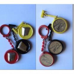porte-clés Plastiques Qualités, clé, lot 3 boites (pc)