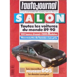 L'Auto Journal, salon 1989