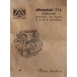 Alsthom Dieselair 316 Agrom 2, 3, 4, 6 cyl.