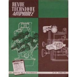 rta revue technique automobile renault 4 4l super de 1963 64. Black Bedroom Furniture Sets. Home Design Ideas