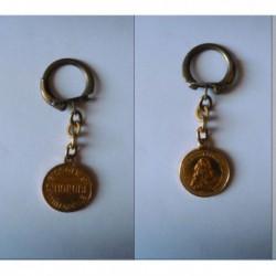 porte-clés biscotte St-Honoré, ludovicus xiiii rex christianissimus (pc)