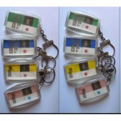 porte-clés biscottes Reine de France, Amiènoise, amien, lot 4 (pc)