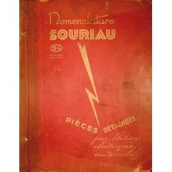 Souriau, pièces détachées adaptables avant 1940
