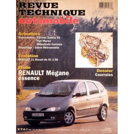 RTA Renault Mégane I essence