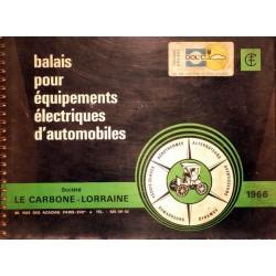 Le Carbone Lorraine, balais pour équipements électriques