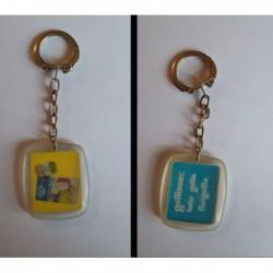 porte-clés Galliassec, Baby Gallia, Farigallia (pc)
