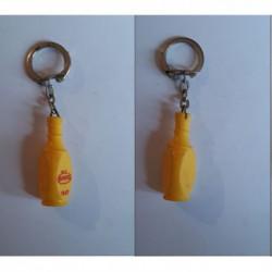 porte-clés Pampryl 1967, bouteille jus de fruits (pc)