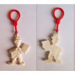 porte-clés Petit Pâtre blanc (pc)