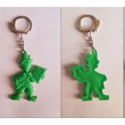 porte-clés Petit Pâtre vert (pc)