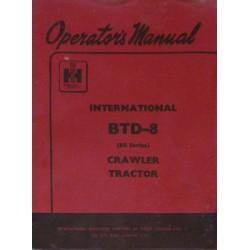 McCormick IH BTD-8, notice d'entretien