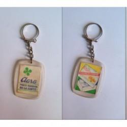 porte-clés petits suisse double crème Clara (pc)