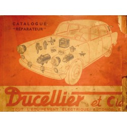 Ducellier catalogue réparateur (1963)