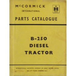 International B-250 Diesel, catalogue de pièces