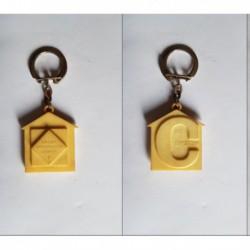 porte-clés 1ere Exposition C, agent immobilier agrée (pc)