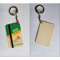 porte-clés reproduction carte de transport Semtao, TAO Orléans (pc)