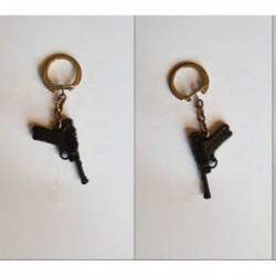 porte-clés Schick, pistolet Luger P08 (pc)