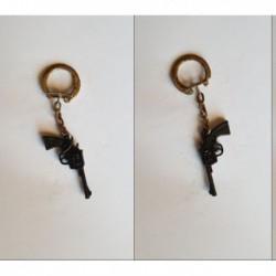 porte-clés Schick, pistolet Revolver Colt (pc)