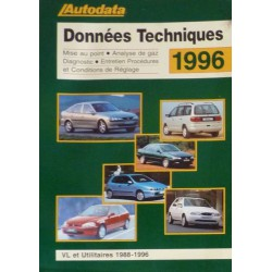 Données Techniques 1988-96, recueil Autodata