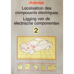 Localisation des composants électriques 1990-94, recueil Autodata n°2