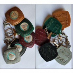 porte-clés Impérial entremets flan, lot 5 couleur différentes (pc)