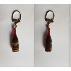 porte-clés bouteille vin Léon Violland, Beaune (pc)