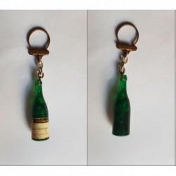 porte-clés bouteille vin Labaume Ainé et Fils, Corton Charlemagne (pc)