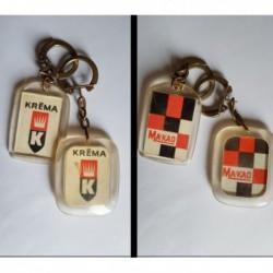 porte-clés Kréma, Ma'Kao, lot 2 (pc)