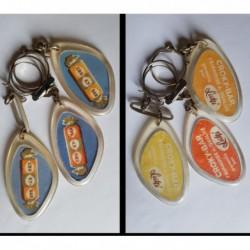 porte-clés Cro Ky Bar Croky-Bar friandises Lutti, lot 3 couleurs diff. (pc)