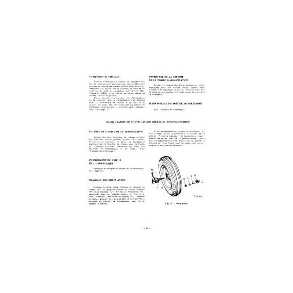notice d 39 entretien mccormick international tracteur diesel b414. Black Bedroom Furniture Sets. Home Design Ideas