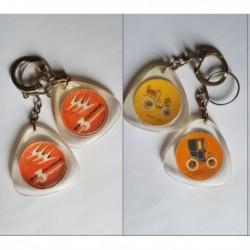 porte-clés Biscuiterie aux 3 Cigognes, lot 2 tacots (pc)