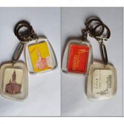 porte-clés Biscuiterie Lilloise, lot 2 Beffroi CCI Lille (pc)