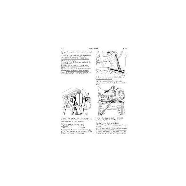 renault dauphine  gordini et 1093  manuel de r u00e9paration