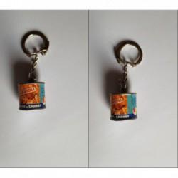porte-clés boite conserve Rivoire et Carret, ravioli (pc)