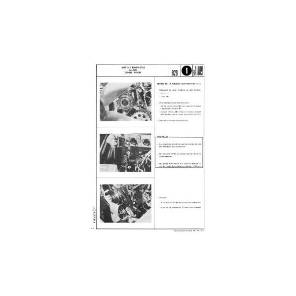 manuel de r paration peugeot 505 gr sr carburateur ti. Black Bedroom Furniture Sets. Home Design Ideas