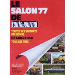 L'Auto Journal, salon 1977