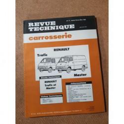 Technique carrosserie Renault Trafic et Master