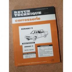 Technique carrosserie Renault 9