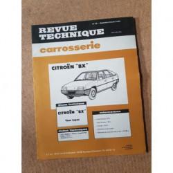 Technique carrosserie Citroën BX