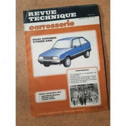 Technique carrosserie Citroën Axel