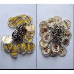 porte-clés chewing gum May peppermint, lot 13 voitures différentes (pc)
